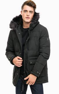 Зимняя куртка с меховой отделкой Calvin Klein Jeans