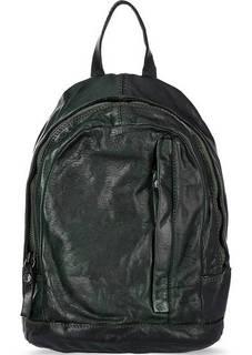 Кожаный рюкзак с отделом на молнии Campomaggi
