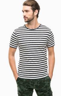 Трикотажная футболка в полоску Hilfiger Denim