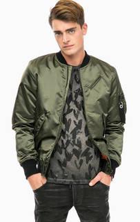 Куртка-бомбер с карманом на рукаве Diesel