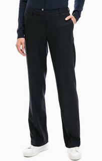 Прямые брюки темно-синего цвета Gant
