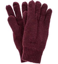Утепленные вязаные перчатки Gant