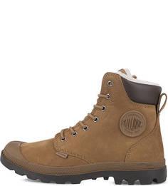 Высокие зимние ботинки из нубука Palladium