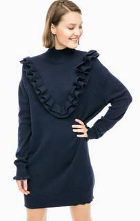 Короткое платье-свитер с длинными рукавами Vero Moda