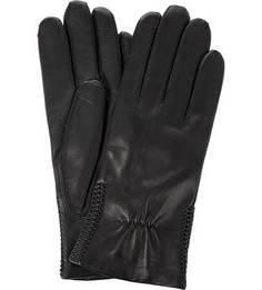 Лайковые перчатки с шерстяной подкладкой Bartoc