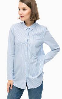 Рубашка в полоску с нагрудным карманом Tom Tailor Denim