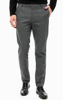 Хлопковые зауженные брюки Dockers