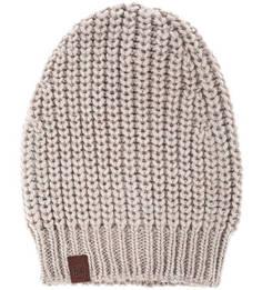 Однотонная вязаная шапка Buff