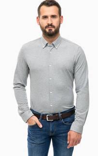 Хлопковая трикотажная рубашка Lerros
