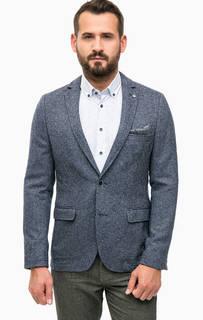 Пиджак синего цвета на пуговицах Lerros