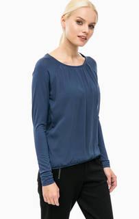 Блуза синего цвета с длинными рукавами Lerros