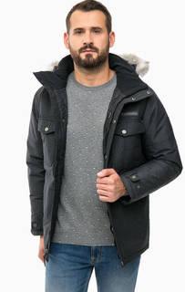 Серая куртка с капюшоном Columbia