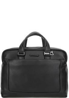 Кожаная сумка через плечо с короткими ручками Piquadro
