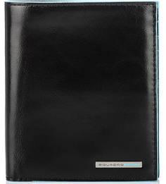 Кожаное портмоне с контрастной отделкой Piquadro
