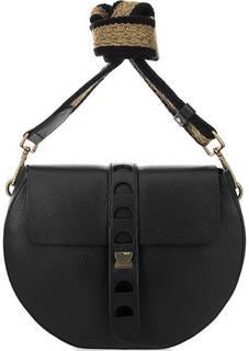Кожаная сумка с двумя плечевыми ремнями Coccinelle