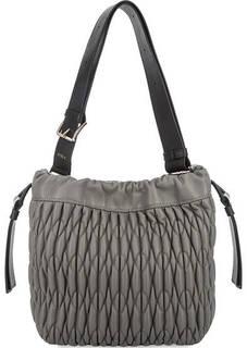Кожаная сумка на кулиске Furla