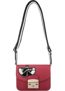 Маленькая сумка с широким плечевым ремнем Furla