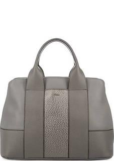 Вместительная сумка из натуральной кожи Furla