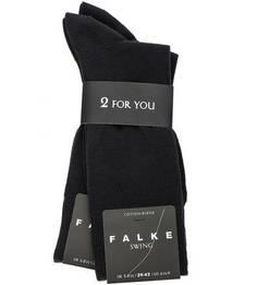 Комплект из двух пар синих носков Falke