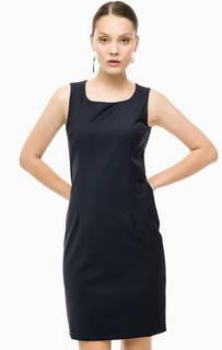 Платье-футляр из костюмной ткани Cinque