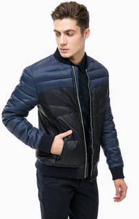 Демисезонная куртка синего цвета Antony Morato