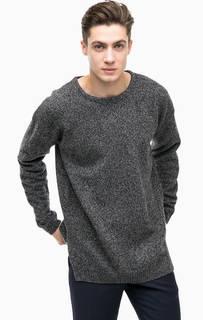 Серый шерстяной свитер Antony Morato