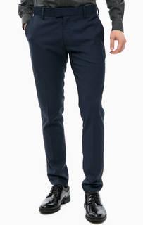 Синие трикотажные брюки Antony Morato