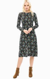 Платье из вискозы с разрезом спереди Sugarhill Boutique