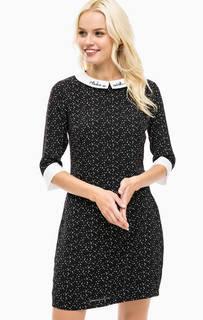 Платье в горошек с вышивкой Sugarhill Boutique