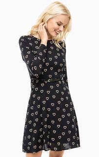 Платье из вискозы с ремнем Sugarhill Boutique