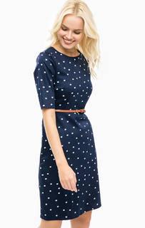 Платье из хлопка с ремнем Sugarhill Boutique
