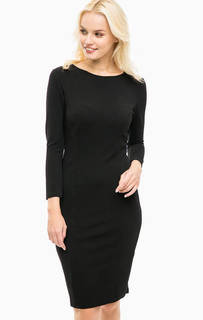 Приталенное черное платье Sugarhill Boutique