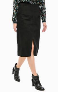 Черная юбка из хлопка Sugarhill Boutique