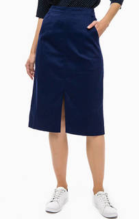 Синяя юбка из хлопка Sugarhill Boutique