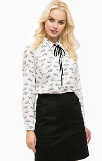 Приталенная блуза с принтом Sugarhill Boutique