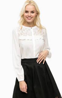 Рубашка из вискозы с кружевными вставками Sugarhill Boutique