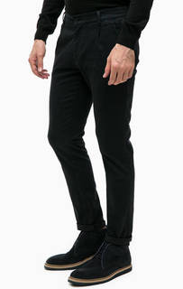 Темно-синие брюки чиносы Navigare