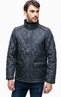 Стеганая куртка с воротником-стойкой Navigare