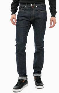 Синие зауженные джинсы Pierre Cardin