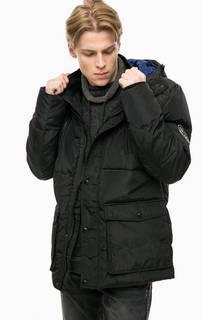 Короткая демисезонная куртка черного цвета Blend