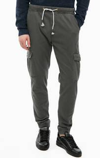 Серые хлопковые брюки карго Blend