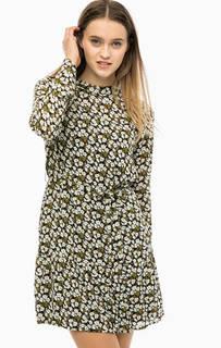 Платье с длинными рукавами и цветочным принтом Blend She