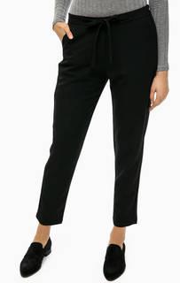 Черные зауженные брюки Ichi