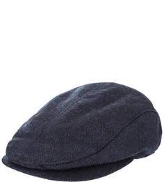 Синяя кепка с высоким содержанием шерсти Gant