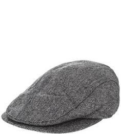 Серая кепка с высоким содержанием шерсти Gant