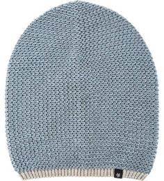 Синяя шапка мелкой вязки Marc Opolo