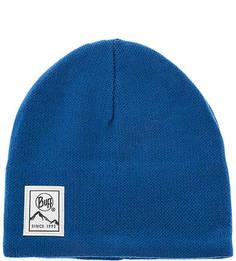 Синяя шапка с подкладкой Buff
