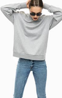 Серый свитшот свободного кроя Cheap Monday
