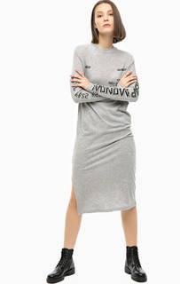 Хлопковое платье с принтом Cheap Monday
