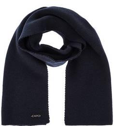 Однотонный трикотажный шарф Capo